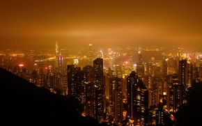 Picture China, Hong Kong, Night, Panorama, Building, China, City, Night, Hong Kong, Panorama