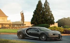 Picture bugatti, wheels, carbon, clean, forgiato, chiron