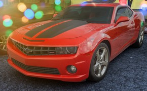 Picture design, the front, Chevy Camaro SS