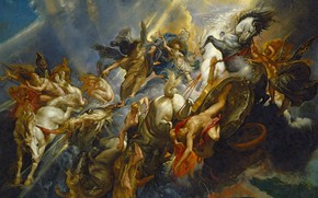 Picture picture, Peter Paul Rubens, mythology, The Fall Of Phaeton, Pieter Paul Rubens