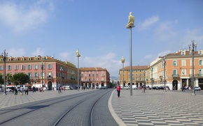 Picture France, home, Nice, place Massena