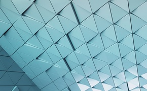 Picture abstract, wall, design, texture, triangle, background, steel, triangle