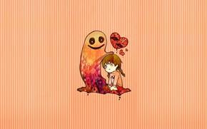 Picture background, anime, girl, Yume Nikki