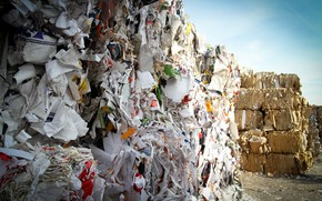 Picture garbage, recycling, waste