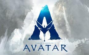 Picture fiction, the inscription, fantasy, poster, James Cameron, Avatar 2, Avatar 2