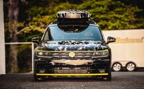 Picture Concept, Volkswagen, front view, 2018, Aero, Tiguan, R-Line