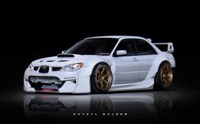 Picture car, Subaru, Funny Bunny, AngryBunny