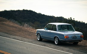 Picture Auto, Road, Retro, BMW, Machine, Car, Is, 2002, German, Larry Chen, BMW 2002