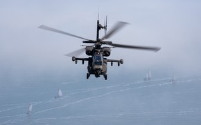 Picture Apache, AH-64, McDonnell Douglas, attack helicopter