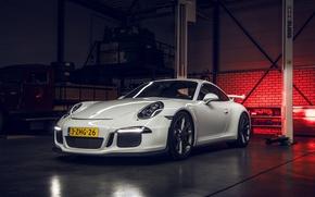 Picture 911, Porsche, GT3, White