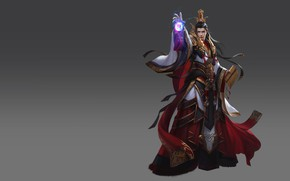 Picture the game, fantasy, art, MAG, level, skill, Skil, LVL, costume design, Qin Empire rise of ...