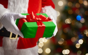 Picture New Year, Christmas, merry christmas, decoration, christmas tree, gifts, santa claus
