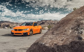 Picture the sky, landscape, design, style, car, BMW M4