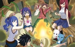 Picture anime, asian, manga, japanese, Fairy Tail, mahou, madoshi