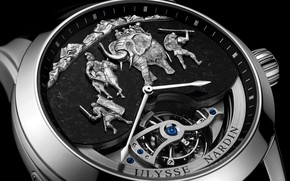Wallpaper Ulysse Nardin, watch, time, Ulysses Nardan, watch, Hannibal Minute Repeater, chronometer