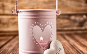 Picture Board, candle, love, heart