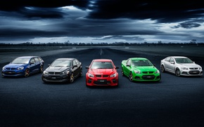 Picture Road, Machine, Car, Cars, Holden
