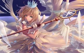 Picture card, anime, girl, Card Captor Sakura