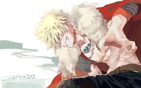 Picture smile, anime, art, guy, Boku no Hero Academy, My hero Academy