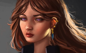 Picture girl, art, by Whails