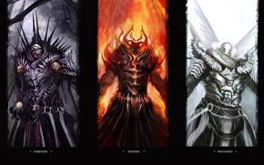 Picture monsters, funny, digital art, artwork, darkness, humor, creatures, theDURRRRIAN, tobuscus, wallpaper of emissaries