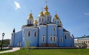 Picture Church, Kiev, St. Michael's monastery, The Kyivan Patriarchate, Ukrainian Orthodox Church