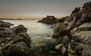 Picture sea, nature, seascape, rocks, marine, shore