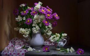 Wallpaper Jasmine, bouquet, chamomile