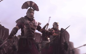Picture weapons, warriors, call, centurion, Into the Battle