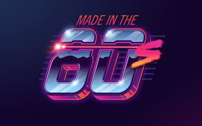 Picture style, neon, art, font, 80s, neon, 80s neon style, made in the 80s