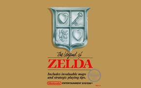 Picture NES, Nintendo, original, Zelda