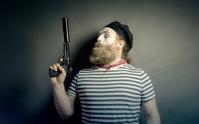 Picture gun, weapons, people, MIM