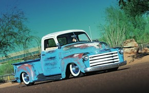 Picture Chevrolet, Old, 1950, Pickup, 3100, Classic trucks