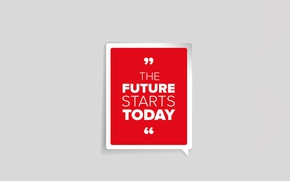 Picture future, quote, motivation