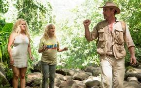 Picture cinema, girl, hat, jungle, woman, man, movie, blonde, film, Amy Schumer, Snatched, Goldie Jeanne