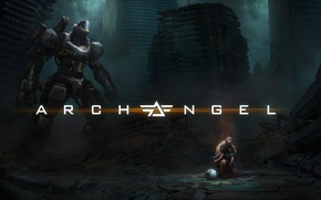 Picture game, robot, mecha, machine, Archangel, PlayStation VR, Archangel For PlayStation VR