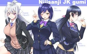 Picture Girls, Form, Trio, Nijisanji