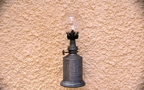 Picture light, wall, vintage, lamp, aluminum, swallow, gasoline
