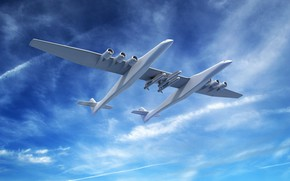 Picture The plane, Stratolaunch, Stratolaunch Model 351, Stratolaunch Systems
