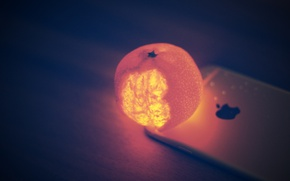 Picture backlight, iphone, Mandarin