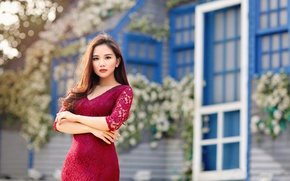 Picture Asian, dress, girl, look