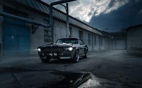 Wallpaper Shelby, GT500, Eleanor, 1967, Mustang, Ford