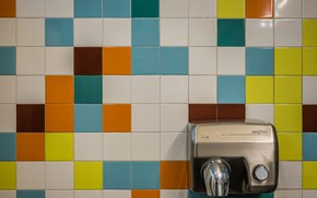 Picture wall, tile, interior, dryer