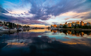 Picture Canada, Vancouver, Coal Harbour