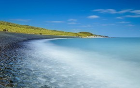 Picture sea, shore, Netherlands, Zealand