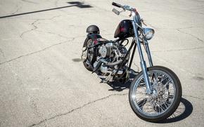 Picture style, bike, Chopper