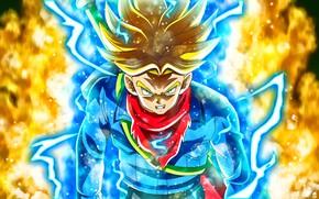 Picture DBS, game, anime, manga, Dragon Ball, Trunks, Dragon Ball Super, japonese, Future Trunks, by rmehedi, …