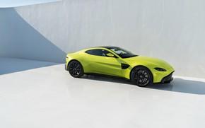 Picture Aston Martin, Vantage, side view, 2018