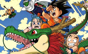 Picture game, star, anime, dragon, asian, red star, god, Son Goku, oriental, asiatic, Dragon Ball, Goku, …