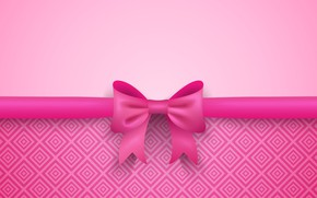 Picture background, tape, bow